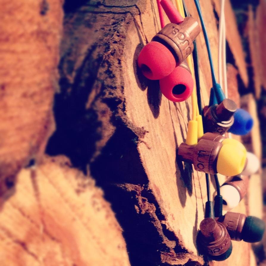 Woodbuds wooden earphones