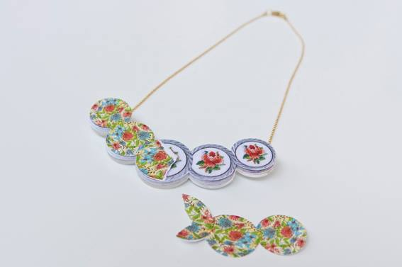 Jewelry of the day by Mianne Design - made from paper!