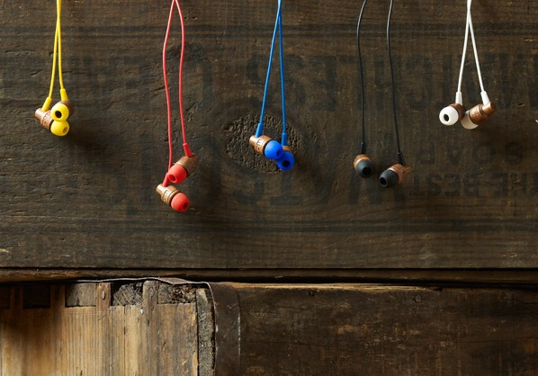 Woodbuds wooden earphones