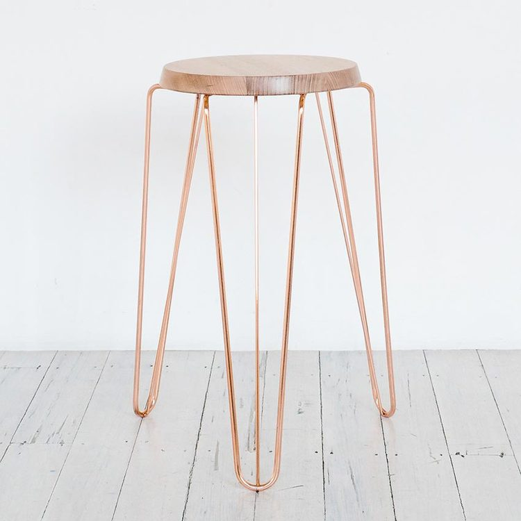 Copper-Bar-Stool-Melbourne-Designer-Furniture-TUCKBOX