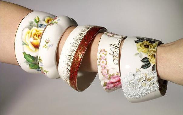 Beautiful Tea Cup Bracelets!