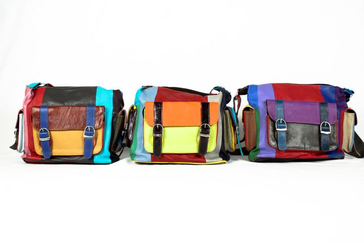 Stunning colourful bags by What Daisy Did!