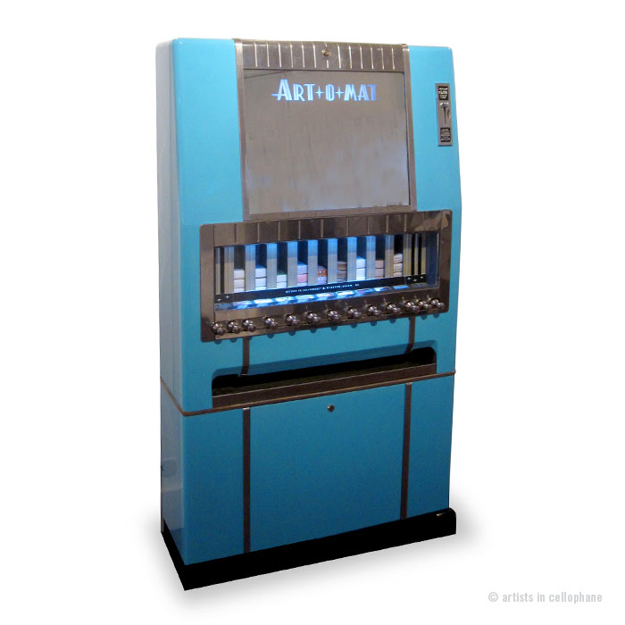 Art-O-Mat vending machines