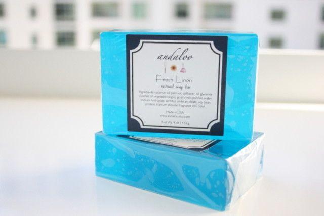 handmade soap Fresh Linen - nice!