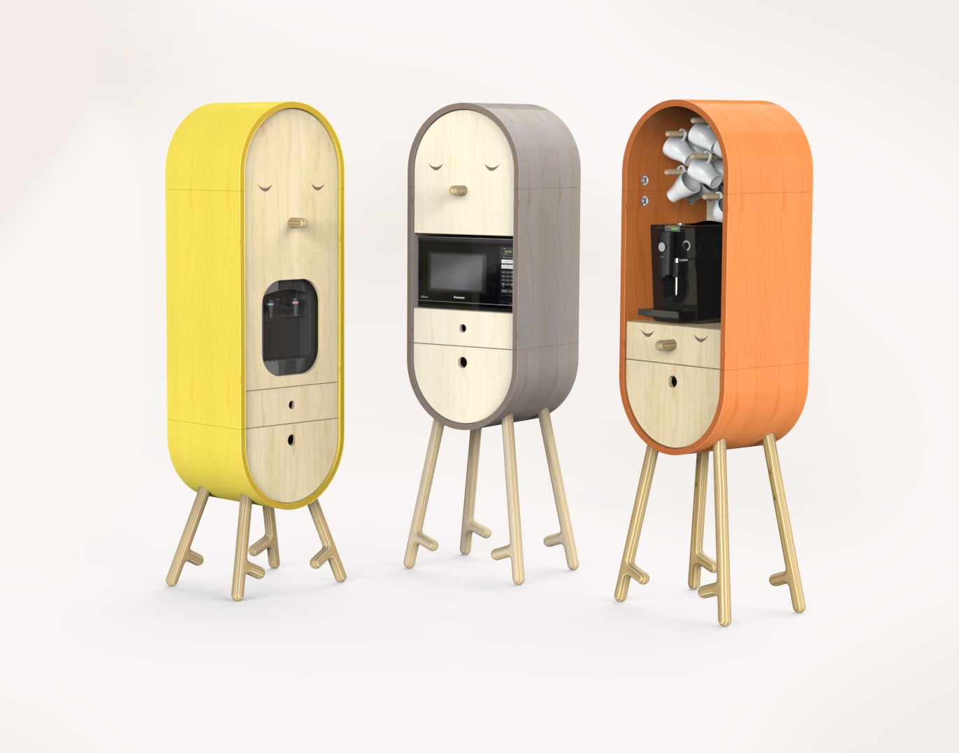 Amazing Micro Kitchen by Aotta