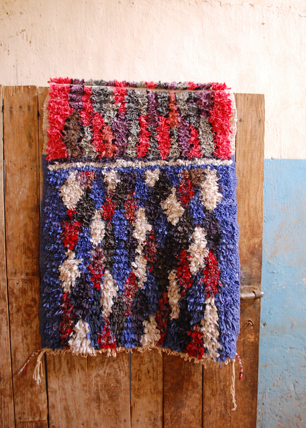 Amazing upcycled carpets from Carpet of Life - made in Marocco