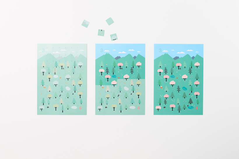 MINDFUL MONDAY: Nendo Sticker Calendar