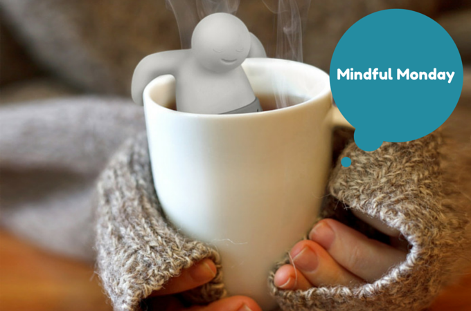Fred  and Friends tea infuser - Mindful Monday
