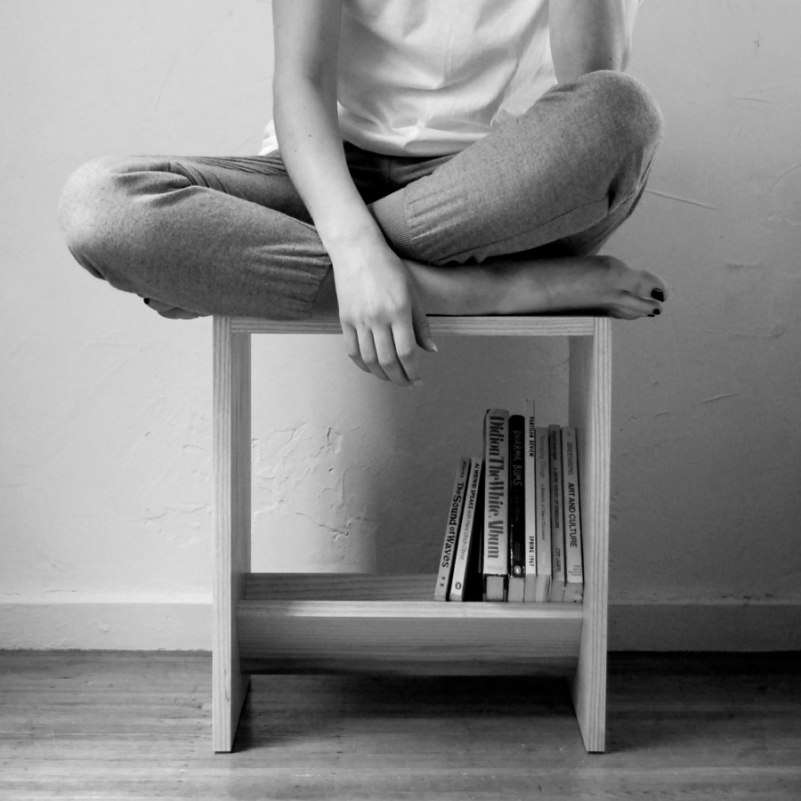 Book --- Shop handmade wooden bookcase - love!