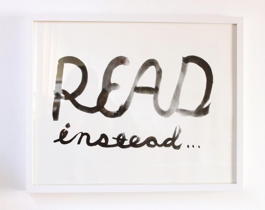 Read-Instead-Print