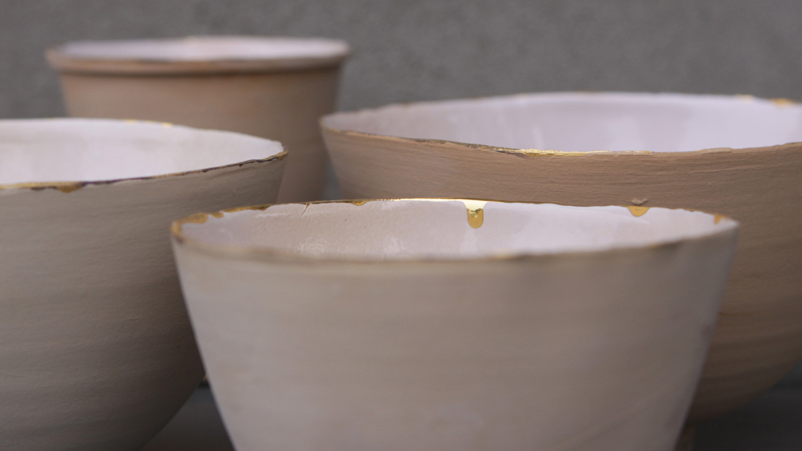 Gorgeous pastel ceramics: handmade by studio All Es from the Netherlands