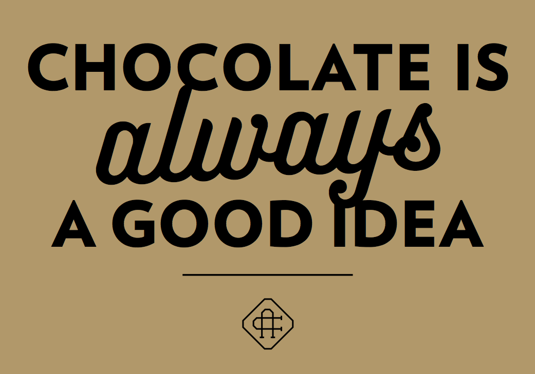 Get this beautiful quote on a free postcard! www.anderechocolade.nl