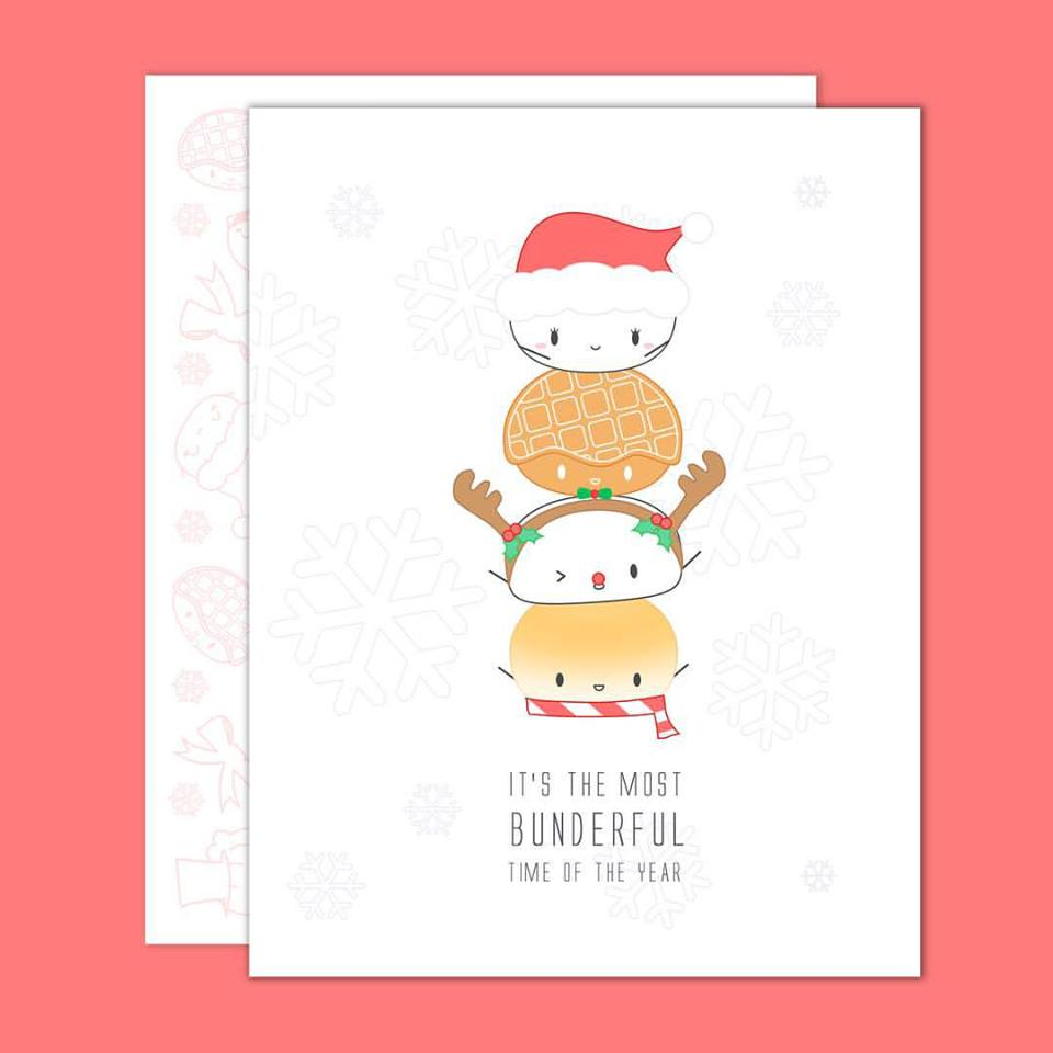Wonton in A Million Christmas cards
