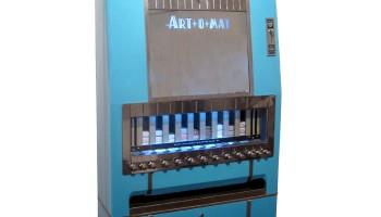 Art-O-Mat: the art vending machine