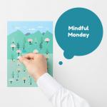 MINDFUL MONDAY: Nendo Sticker Calendar
