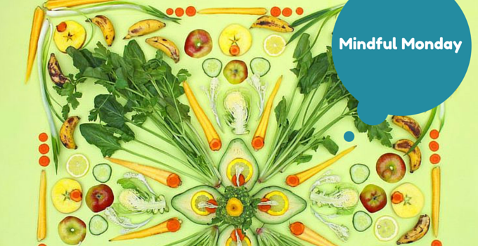 MINDFUL MONDAY: Brighty coloured food art by Amba Living