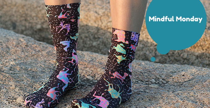 MINDFUL MONDAY: Julie White socks