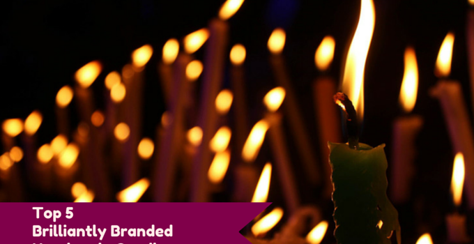 Top 5 brilliantly branded handmade candles