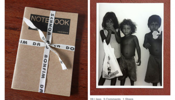 The power of many small actions: 4478zine's 'The notebook project'