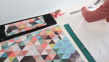 Couple crush: geometric pillows and terrariums